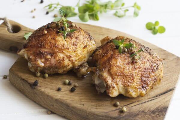 leg, chicken, meat